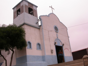 Iglesia en Punta de Choros