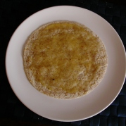 Tortilla with honey