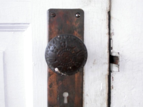 Another old latch, interior door