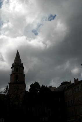 A drama on the sky