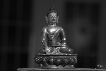 Bouddha in my meditation room
