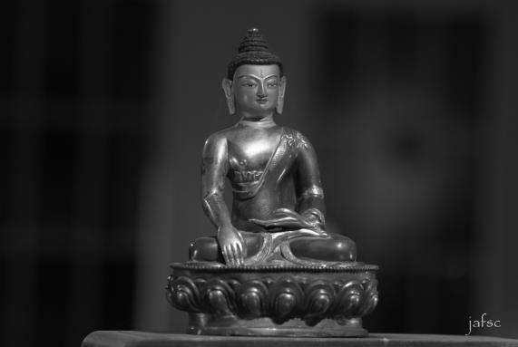 Bouddha in my meditation room