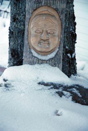 My Buddha in winter