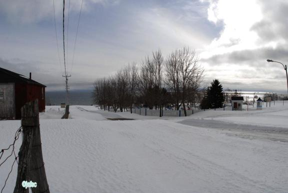 Site for the ramdonée with snowshoes