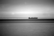 A Cargo in the middle of the Bay