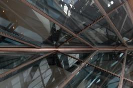 Details of structure:Guggenheim, Bilbao