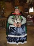 Machi with ritual garments
