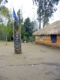 Ritual Totem represented the Meliñom Wenu