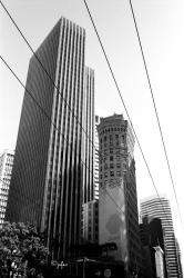 Rascacielos somewhere in downtown
