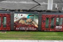 Train in Bilbao