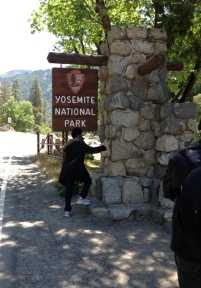 Entrée à Yosemite via Mariposa