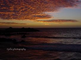 Valparaiso at the twilight