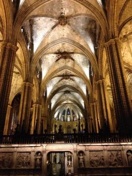 Nave principal de la Catedral
