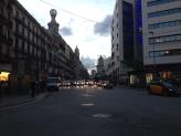 En Plaza Cataluña