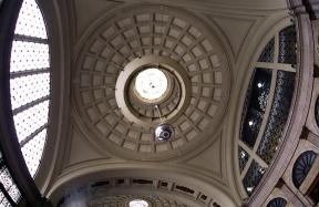 Dome in the Estacion de Francia