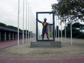 En homenaje a los Juegos Olímpicos
