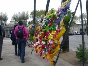 entrada al cementerio