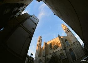 Catedral Santa Maria del Mar in Barcelona