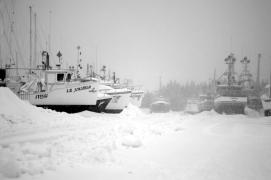Hibernation of ships II in B&W