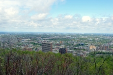 Panoramic from the Mont-Royal