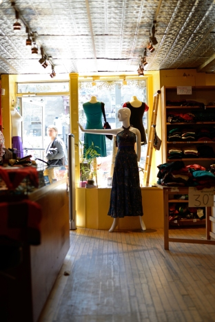 Into the shop I