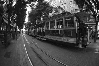 Cable Car (Tramway-San Francisco)