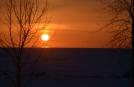 Ahora entibio la nieve ....Buenos días!!