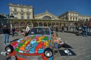 P_022 Gare de l'Est :Exposition publique Art de rue et Mur de Berlin