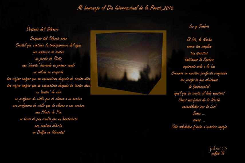 Dia Internacional de la Poesia 2016